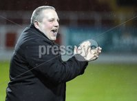©Press Eye Ltd Northern Ireland - 23rd April 2012. Setanta cup semi final second leg match between Sligo Rovers and Crusaders at Sligo show grounds.. Crusaders chairman Stephen Bell.  Mandatory Credit - Picture by Stephen Hamilton /Presseye.com. .