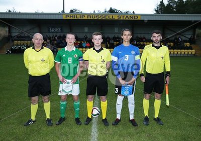 Northern Ireland  u16 v Estonia u1...