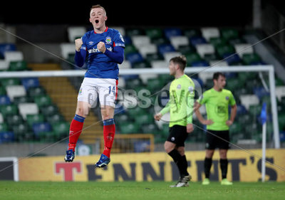 Linfield vs Warrenpoint Town  Dans...