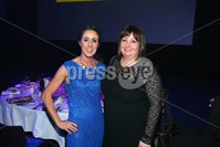 Press Eye - Belfast - Northern Ireland - 6th February 2017 -  . Belfast Telegraph Sports Awards 2016.. Karen McGarvey and Julie Maguire pictured at the Belfast Telegraph Sports Awards 2016 in the Waterfront Hall.. Photo by Kelvin Boyes / Press Eye..