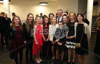 Press Eye - Belfast - Northern Ireland - 6th February 2017 -  . Belfast Telegraph Sports Awards 2016.. Michael O\'Neill with fans pictured at the Belfast Telegraph Sports Awards 2016 in the Waterfront Hall.. Photo by Kelvin Boyes / Press Eye..