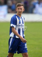 Danske Bank Premiership, Showgrounds, Coleraine 4/8/2018. Coleraine vs Warrenpoint. Coleraine\'s Caolan Brennan. Mandatory Credit ©INPHO/Lorcan Doherty