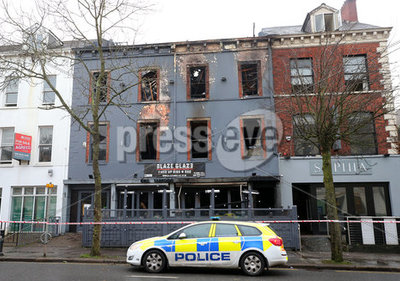 Fire University Road South Belfast...
