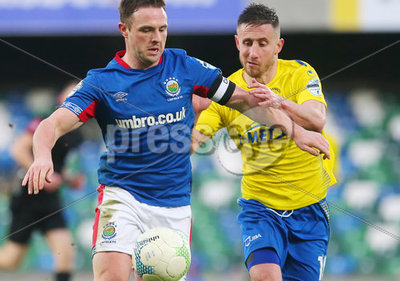 Linfield vs Dungannon Swifts Dansk...