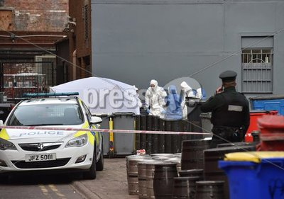Body Found Keylands Place, Belfast
