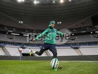 Ireland Rugby Captain\'s Run, Stade de France, Paris France 12/2/2016. Ireland\'s Jonathan Sexton. Mandatory Credit ©INPHO/Billy Stickland.