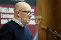 Press Eye - Belfast - Northern Ireland - 10th February 2019 - . Joe Austin pictured at the event at St Marys University College Belfast entitled Pat Finucane 30th Anniversary, A Community Reflects. The event was organised by Feile an Phobail.. Photo by Kelvin Boyes / Press Eye