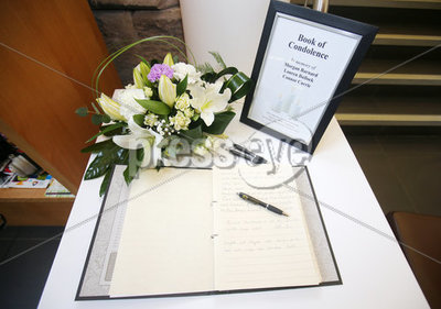 Book of condolence, Cookstown Town...