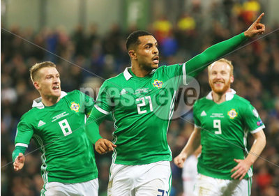 Northern Ireland v Belarus Euro 20...