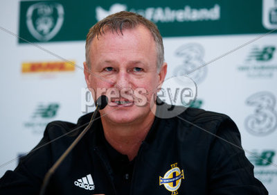 Northern Ireland Squad Press Confe...
