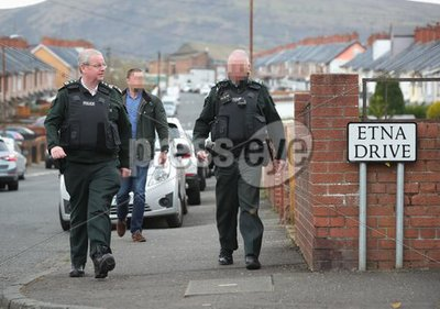 Chief Constable in Ardoyne