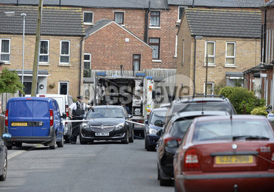 North Belfast security alert