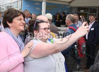 Press Eye - Belfast - Northern Ireland - 15th May 2019 -  DUP leader Arlene Foster at the Balmoral Show.. Photo by Brian Little / Press Eye..