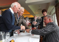 PRESS EYE-BELFAST-NORTHERN IRELAND. Conferement of the Freedom of the Borough by Dungannon and South Tyrone Council today.Darren Clarke received the freedom of his home town Dungannon during a special ceremony held in recognition of his achievements in world golf.. Darren signs autographs. Pic : BrianThompson/Presseye.com
