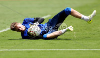 Press Eye - Belfast -  Northern Ireland - 02nd June 2018 - Photo by William Cherry/Presseye. Northern Ireland goalkeeper Conor Hazard pictured during Saturday mornings training session at the Nuevo Estadio Nacional de Costa Rica in San Jose ahead of Sundays Friendly International against Costa Rica.. Photo by William Cherry/Presseye
