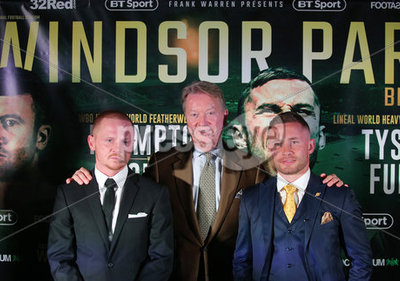 Carl Frampton Press Conference, Wi...
