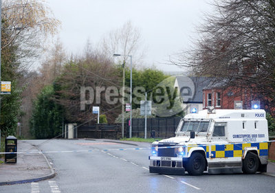 Security Alert West Belfast