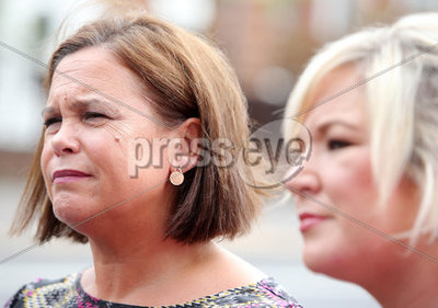 Sinn Fein leader Mary Lou McDonald