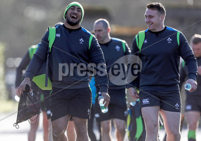 Ireland Rugby Squad Open Training ...