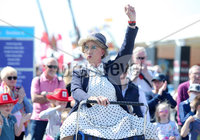 Press Eye - Belfast - Northern Ireland - 16th May 2018. First day of the 2018 Balmoral Show, in partnership with Ulster Bank, at Balmoral Park.  Entertainment takes place at the 150th Balmoral show. . Picture by Jonathan Porter/PressEye