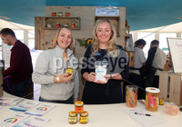 Press Eye - Belfast - Northern Ireland - 16th May 2018. First day of the 2018 Balmoral Show, in partnership with Ulster Bank, at Balmoral Park.  Vivian McKinnon from Hydro-Ease with Lynsey Cunningham Regional Director, Entrepreneurship at Ulster Bank. Hydro-Ease was one of the companies provided with free space by Ulster Bank to exhibit in its marquee. The companies include Ulster Bank customers and entrepreneurs from the bank\'s Entrepreneur Accelerator.. Picture by Jonathan Porter/PressEye