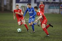 Danske Bank Premiership, Solitude, Belfast 1/12/2018 . Cliftonville vs Dungannon Swifts. Mark Patton for Dungannon. Mandatory Credit INPHO/Freddie Parkinson