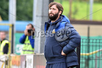 © Presseye.com- August 12th 2017, Danske Bank Premiership.. Warrenpoint Town v Glenavon %:30 Kick off.. Glenavon manager, Gary Hamilton during Saturday\'s match at Milltown. Photo by TONY HENDRON/Presseye.com. .