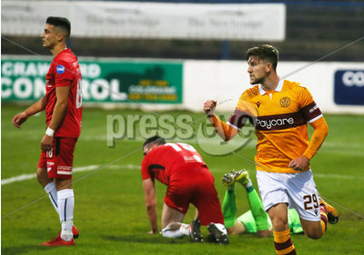 Coleraine vs Motherwell - Europa L...