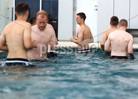 Press Eye - Belfast -  Northern Ireland - 31st May 2018 - Photo by William Cherry/Presseye. Northern Ireland\'s in the pool during Thursday mornings recovery session at the team Hotel in San Jose, Costa Rica ahead of their International Friendly on the last leg of their Central America tour.. Photo by William Cherry/Presseye