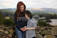 PPress Eye - Belfast -  Northern Ireland - 18th May 2018 - Photo by William Cherry/Presseye. Charlotte Caldwell and her 12 year old son Billy. pictured at their Castlederg home in Co Tyrone.. Last year Billy became the first in the UK to get legally-prescribed cannabis oil on the NHS for his severe epilepsy.