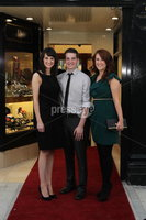 ©Press Eye Ltd Northern Ireland - 28th March 2012. Mandatory Credit - Picture by Darren Kidd/Presseye.com .  .  Jack Murphy Jewellers of Newry -  Jessie Adamson, Sean Woods and Aislinn Kavanagh