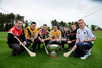 Press Eye - Belfast - Northern Ireland - 9th May 2012 . Ulster Camogie and GAA Hurling All Ireland Senior Championship. Picture by Elaine Hill / Press Eye. Patrick McCloskey Derry, Ruairi Convery Derry, Liam Hinphey Derry, Shane McNaughton Antrim, Conor Mageean Down, Michael Turley Down and Ryan Gaffney Armagh