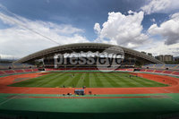 Press Eye - Belfast -  Northern Ireland - 02nd June 2018 - Photo by William Cherry/Presseye. Northern Ireland players pictured during Saturday mornings training session at the Nuevo Estadio Nacional de Costa Rica in San Jose ahead of Sundays Friendly International against Costa Rica.. Photo by William Cherry/Presseye