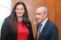 Press Eye - Belfast - Northern Ireland - 12th June 2018. Professor Bengo, who did a report into reform on the health service in Northern Ireland, visits MLAs at Stormont.. Picture by Jonathan Porter/PressEye