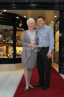 ©Press Eye Ltd Northern Ireland - 28th March 2012. Mandatory Credit - Picture by Darren Kidd/Presseye.com .  .  Jack Murphy Jewellers of Newry -  Pat and Jack Murphy