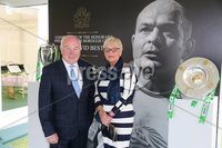 Press Eye - Belfast - Northern Ireland - 8th September 2018 - . Jim Speers and Elizabeth Speers pictured at the Archbishop's Palace in Armagh along with friends and family of Dr Rory Best OBE to witness the sportsman's conferment with the Freedom of the Borough of Armagh City, Banbridge and Craigavon..  . Photo by Kelvin Boyes / Press Eye..