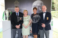 Press Eye - Belfast - Northern Ireland - 8th September 2018 - . Sam Grattan, Mary Grattan, Rosemary Dodds and David Dodds pictured at the Archbishop's Palace in Armagh along with friends and family of Dr Rory Best OBE to witness the sportsman's conferment with the Freedom of the Borough of Armagh City, Banbridge and Craigavon..  . Photo by Kelvin Boyes / Press Eye..