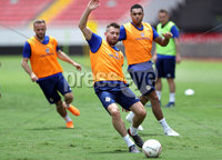 Press Eye - Belfast -  Northern Ireland - 02nd June 2018 - Photo by William Cherry/Presseye. Northern Ireland\'s Stuart Dallas pictured during Saturday mornings training session at the Nuevo Estadio Nacional de Costa Rica in San Jose ahead of Sundays Friendly International against Costa Rica.. Photo by William Cherry/Presseye