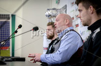 Press Eye - Belfast - Northern Ireland - 06th February 2019.. NO IMAGE FEE. David Jeffrey, Ballymena manager pictured at the 2019 BetMcLean League Cup final press conference, at The National Football Stadium at Windsor Park.. Photo by Matt Mackey / Press Eye.