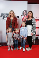 Press Eye - Belfast - Northern Ireland - 30th September 2018 - . Amy Ruth Dunlop, Emmy Bennett, Cody Cummings, Cealan Cummings and Laura Cummings pictured at Movie House Dublin Road for a special preview screening of upcoming comedy, JOHNNY ENGLISH STRIKES AGAIN, in cinemas across Northern Ireland from Friday 5th October.. Photo by Kelvin Boyes / Press Eye..