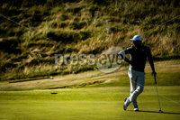 2018 Dubai Duty Free Irish Open - Day 1, Ballyliffin Golf Club, Co. Donegal 5/7/2018. Rory McIlroy on the 18th green. Mandatory Credit ©INPHO/Oisin Keniry