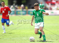 Press Eye - Belfast -  Northern Ireland - 03rd June 2018 - Photo by William Cherry/Presseye. Northern Ireland\'s Shay McCartan during Sunday mornings International Friendly at the Nuevo Estadio Nacional de Costa Rica in San Jose.   Photo by William Cherry/Presseye