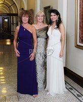 ©Press Eye Ltd Northern Ireland -24th April 2012. Mandatory Credit - Picture by Darren Kidd/Presseye.com .  Helping Hand Charity at City Hall.. Pictured are L-R Adrienne Morgan, Nichola Rooney and Samina Dornan