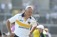 Ulster GAA Football Senior Championship Quarter-Final, Clones, Co. Monaghan 27/5/2012. Monaghan vs Antrim. Antrim manager Liam Bradley looks dejected at the end of the game. Mandatory Credit ©INPHO/Presseye/Andrew Paton
