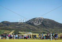 2018 Dubai Duty Free Irish Open - Day 1, Ballyliffin Golf Club, Co. Donegal 5/7/2018. Rory McIlroy on the 16th green. Mandatory Credit ©INPHO/Oisin Keniry