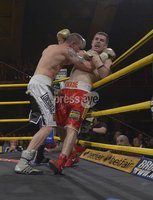 Press Eye - Belfast - Northern Ireland - 4th May 2012. Betfair Prizefighter Irish Middleweights Competition at The Kings Hall, Belfast. PrizeFighter Final between JJ McDonagh and Eamonn O\'Kane. ©Russell Pritchard / Presseye
