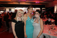 Press Eye - Belfast - Northern Ireland - Tuesday 24th April 2012 -  Picture by Kelvin Boyes / Press Eye.. 2012 Belfast Telegraph Northern Ireland Business Awards in association with bmi at the Ramada Hotel. Julie Fitzsimons, Lindsey Mitchell and Heather Sparkes