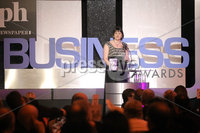 Press Eye - Belfast - Northern Ireland - Tuesday 24th April 2012 -  Picture by Kelvin Boyes / Press Eye.. 2012 Belfast Telegraph Northern Ireland Business Awards in association with bmi at the Ramada Hotel. Arlene Foster