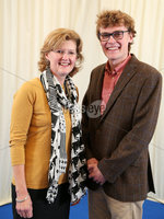 2 September 15 -   Picture by Darren Kidd / Press Eye.. Hillsborough Oyster Festival 2015:. Oyster Festival Musical Evening: The Ulster Youth Orchestra performing for the first time at Hillsborough International Oyster Festival along with the Portadown Male Voice Choir and soloist Zoe Jackson.. Pictured are Glynis and Peter Elliott