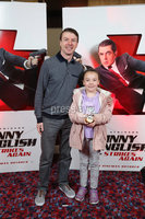Press Eye - Belfast - Northern Ireland - 30th September 2018 - . Brendan and Abigail Gallagher pictured at Movie House Dublin Road for a special preview screening of upcoming comedy, JOHNNY ENGLISH STRIKES AGAIN, in cinemas across Northern Ireland from Friday 5th October.. Photo by Kelvin Boyes / Press Eye..